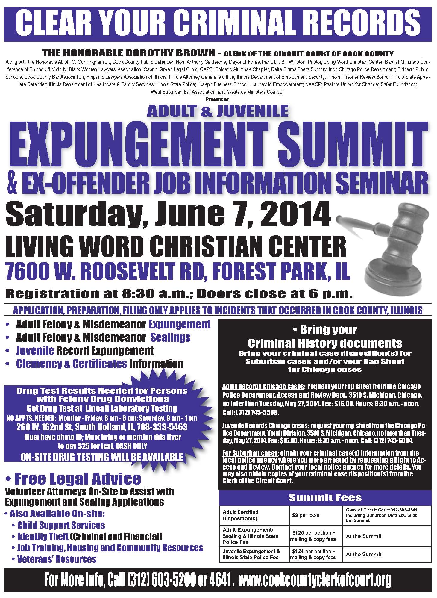 2014 Expungement flyer bilingual 2sided Page 1